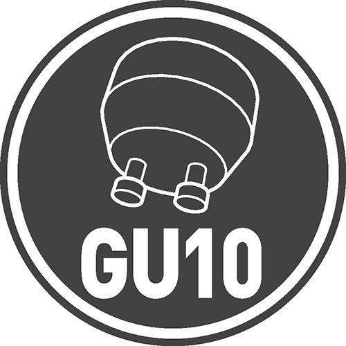 Base type: GU10, G4, G9, MR16, E27, G13, R7s