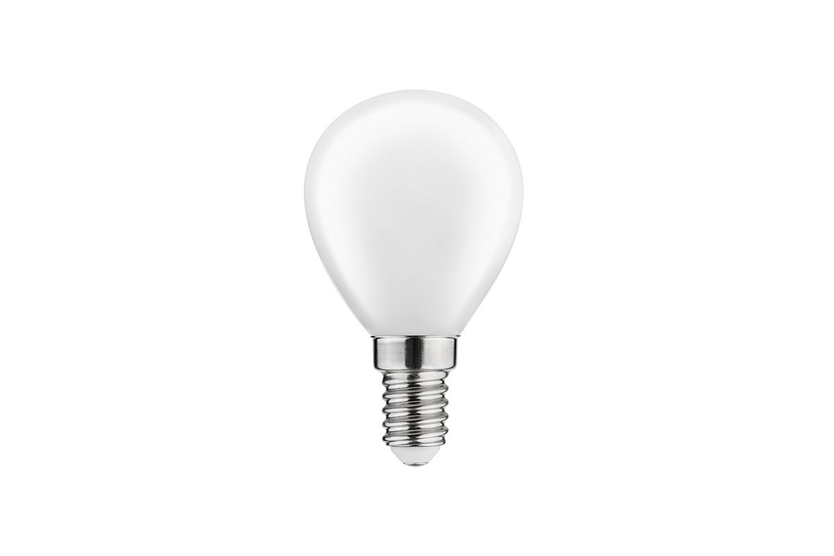 Źródło światła LED, filament mleczny, G45