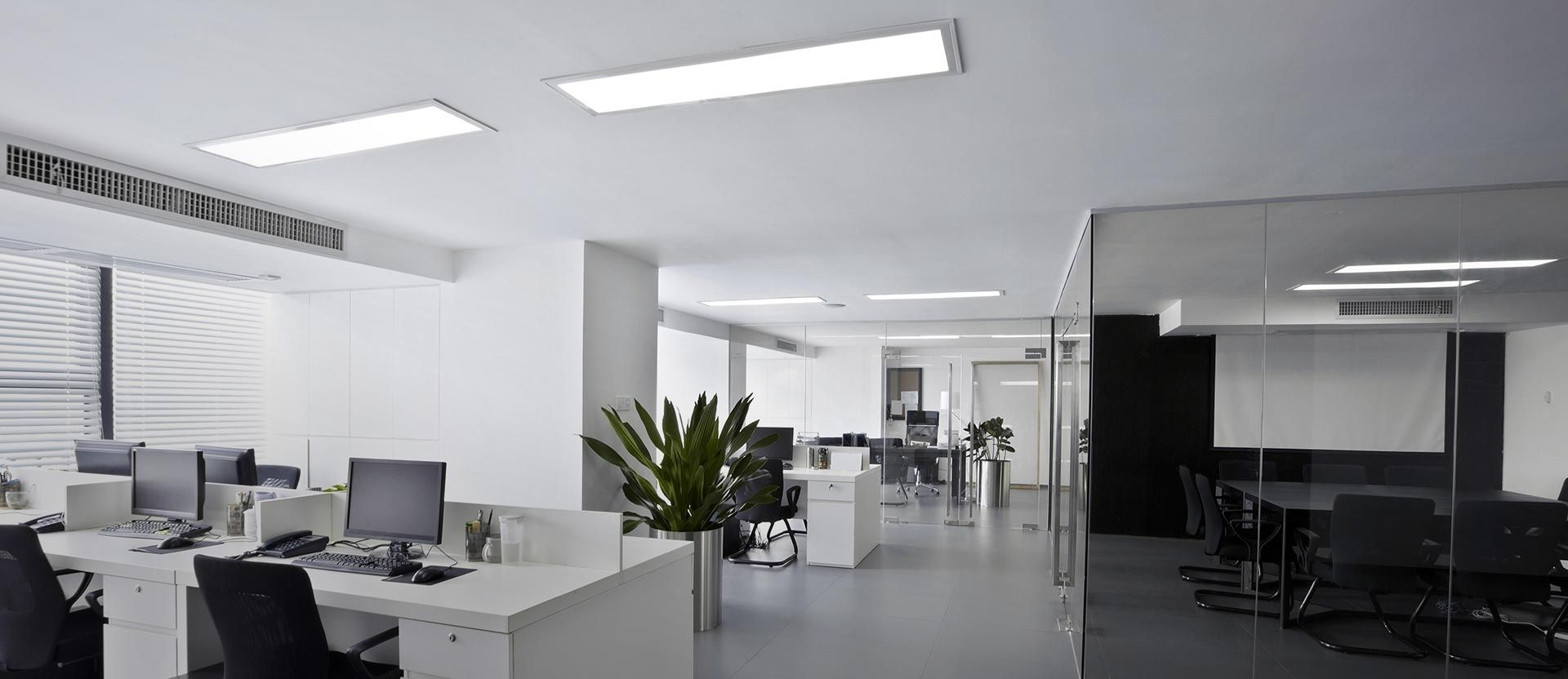Функциональное  офисное освещение