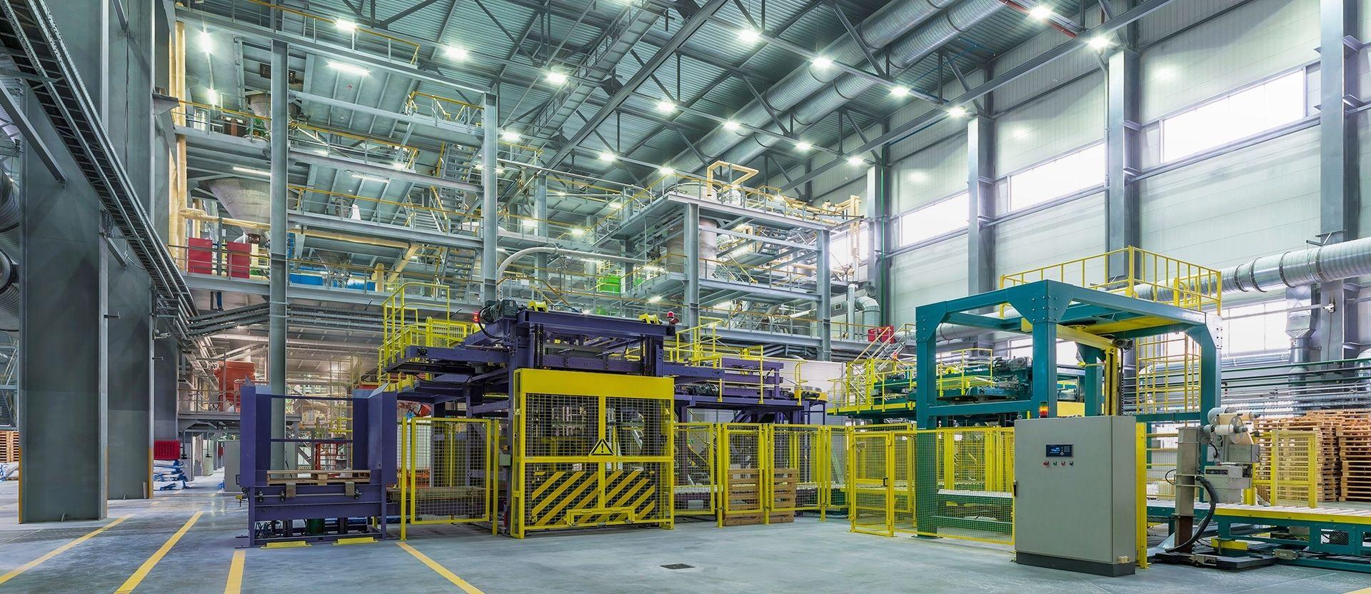 Освещение  промышленных объектов