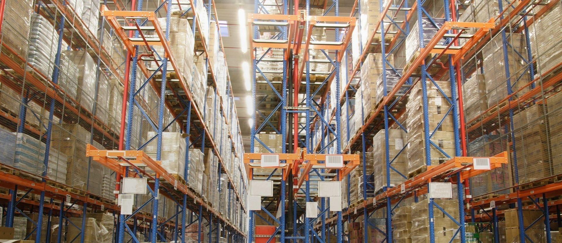 Iluminación de espacios  industriales y almacenes