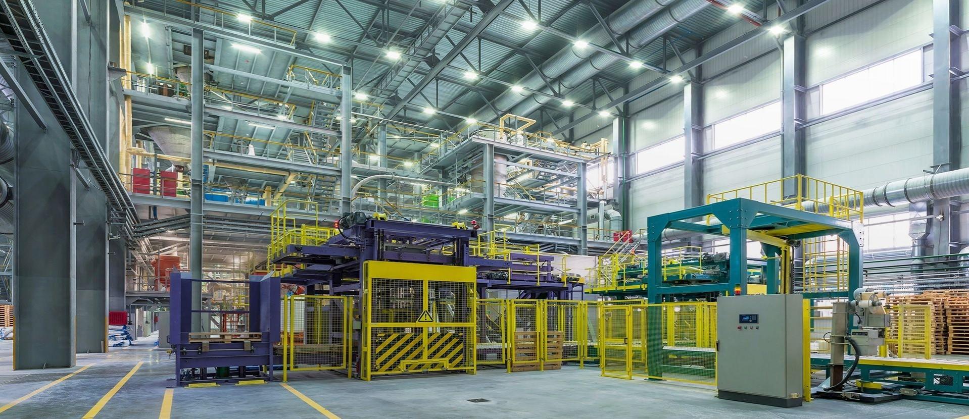 Iluminación de los espacios industriales